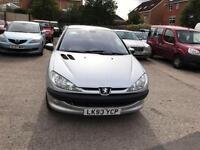 Peugeot 206 1.6 16v SE 5 DOOR - 2004 53-REG - 6 MONTHS MOT