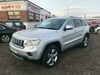 2012 Jeep Grand Cherokee 3.0 V6 CRD OVERLAND 5d 237 BHP Estate Diesel Automatic