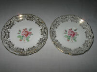 OLD VINTAGE REPLACEMENT CHINA SAUCERS