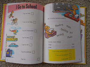 My Book About Me-Dr. Seuss-Large Hard Cover Children's book London Ontario image 2