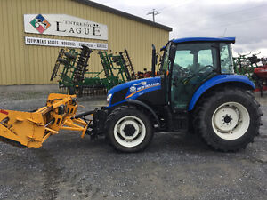 new holland T4.75   seulement 205 heures