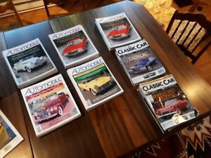 Colectable Automobile hemmings classic car Mags