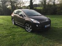 2012 Peugeot 3008 Crossover 1.6 HDi AUTO FSH 1 PREV OWNER £30 ROAD TAX 64 MPG