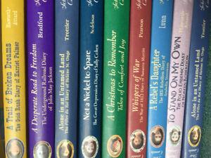 Dear Canada Books (9 hard cover books in total)