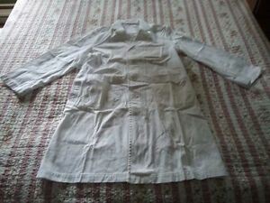 Lab coat, used, white