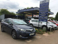 2015 15 Toyota Avensis 2.0D-4D (126bhp) ESTATE Icon BusinessEdition 80,000 miles