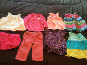 Baby girl 6-9 months spring/ summer lot of lovely clothing