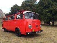 VW T2 Camper MOT till Aug 17