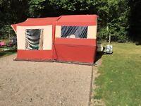 Pennine Aztec folding camper 4 berth