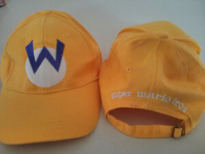 Super Mario Bros Wario adjustable hat $10
