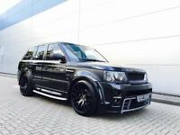 2007 57 Reg Land Rover Range Rover Sport 2.7 TDV6 + HUGE SPEC + BODY KIT + 22""
