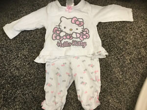 0-3m hello kitty outfit