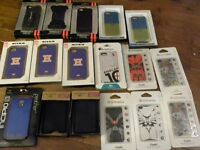 17 i phone cases all are new