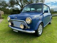 ROVER MINI COOPER 40TH ANNIVERSARY EDITION IN ISLAND BLUE AUTO ONLY 18000 MILES