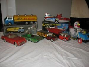 Collection of Tin Toys