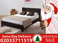 BRAND NEW SINGLE KING SIZE AND DOUBLE LEATHER BED Available with Mattress Benton