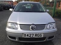 Volkswagen Polo 1.4 2000MY Match Ltd Edn cheap car with 12 months MOT