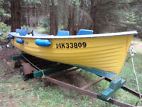 15 foot Painters' Lodge Guide Boat