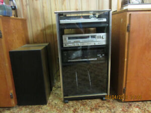 Technics Stereo system with 4 speakers