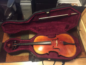 Handmade 4/4 cello, bow and case for sale