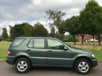 MERCEDES-BENZ ML270 CDI (2001) RARE MANUAL + 7 SEATER