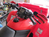 2009 Honda TRX 420 PG Top Model loaded with Extras 1075 km's