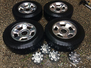 265/70/17 Load range E Wheels/tires
