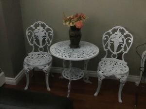 Beautiful Bistro table set