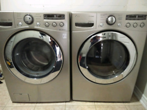 LG laundry pair washer and dryer
