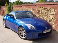 Nissan 350Z 3.5 V6 2006 GT Pack Blue - 74K, Sat Nav, Heated Electric Leather!