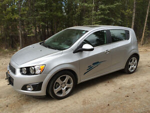 2014 Chev. Sonic LT Hatchback -Like a Honda Fit or Toyota Yaris