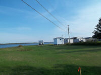 For Sale waterfront lot located at Val-Comeau