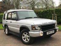 Land Rover Discovery 2.5Td5 AUTOMATIC 2003/53 GS**7 SEATER* 4X4* LOW MILES 101K*