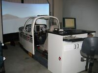 Flight Simulator Baron 58 Cockpit