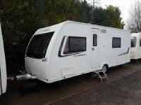 2014 Lunar Clubman SE 4 Berth caravan FIXED BED, MOTOR MOVER, Bargain !!!