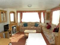 "Cheap Starter 12"" wide Caravan at Carmarthen Bay"