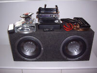 radio auto sony sub out subwoofer ampli pioneer