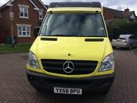 2009 Mercedes Benz Sprinter MANUAL MWB Ambulance CAMPER VAN Bargain