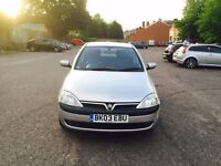 Vauxhall Corsa , warranted low miles , full service history