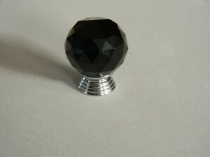 Brand new 10 Round Shape Crystal Glass Knobs