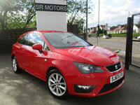 2013 Seat Ibiza 1.2 TSI ( 105ps ) SportCoupe FR(ONE OWNER,SAT/NAV,HISTORY)