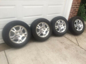 "Winter Tires on alloy rims - 16 "" set of 4"