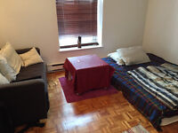 21/2 apartment in downtown Montreal