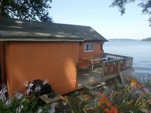 Waterfront, 2 bedroom cottage for rent