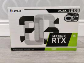 Nvidia Palit GeForce RTX 3060 12GB Dual OC Ampere Graphics Card