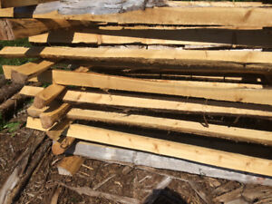 Split rail cedar fence
