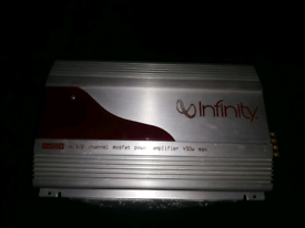 infinity amplifier amp loud qulity sound for speakers sub subwoofer