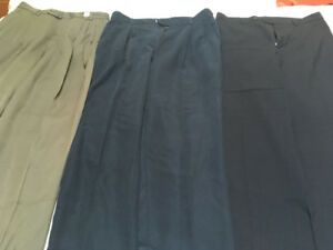 3 pairs dress pants