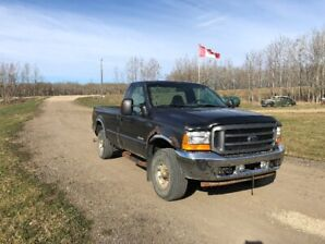 2003 Ford F250 XLT 4x4 Diesel, Mechanic's Special