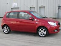 CHEVROLET AVEO LT 2009 Petrol Automatic in Red